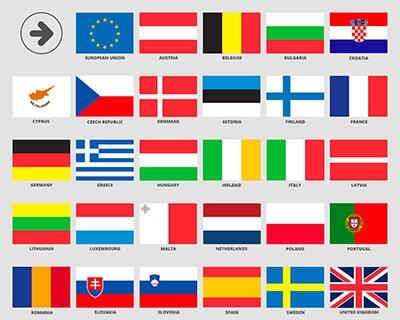 flag til EU-sprog